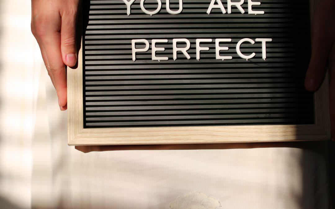 5 consigli per superare il perfezionismo